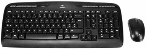 Toetsenbord Logitech MK330 Azerty +muis zwart-3