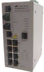 Allied Telesis AT-IFS802SP Managed Fast Ethernet (10/100) Grijs
