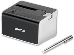 Freecom Hard Drive Dock 3.0 USB 3.0 (3.1 Gen 1) Type-A Zwart, Zilver