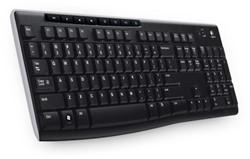 Logitech K270 RF Draadloos AZERTY Zwart toetsenbord