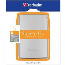 Verbatim Store'n'Go USB 3.0 1TB USB Type-A 3.0 (3.1 Gen 1) 1000GB Zilver externeharde schijf