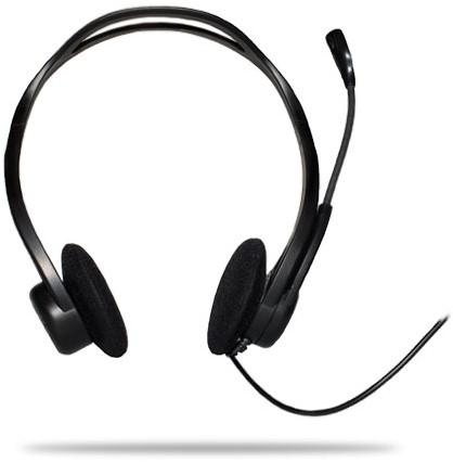 Logitech PC 960 USB Stereofonisch Zwart hoofdtelefoon