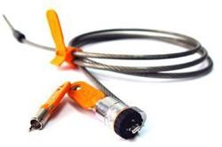 DELL 461-10054 Round key Oranje, Zilver kabelslot