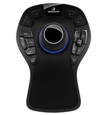 HP SpaceMouse Pro USB 3D-invoerapparaat-2
