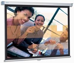 Projecta SlimScreen 180x180 Matte White S 1:1 projectiescherm