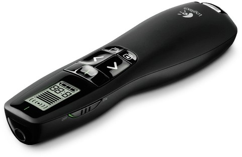 Logitech R700 RF Zwart Draadloze presenter