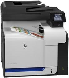 HP LaserJet M570dn Laser A4 Zwart, Grijs