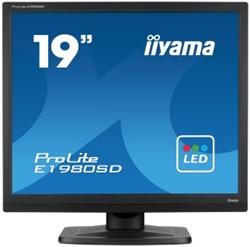 """iiyama ProLite E1980SD 19"""" Niet ondersteund TN+Film Zwart"""