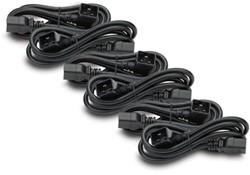 APC C19/C20 0.6m 0.6m C20 stekker C19 stekker Zwart electriciteitssnoer