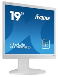 "iiyama ProLite B1980SD-W1 19"" Niet ondersteund TN+Film Wit LED display"