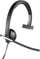 Logitech H650e Monauraal Hoofdband Zwart, Grijs hoofdtelefoon