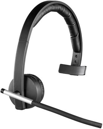 Logitech H820e Monauraal Hoofdband Zwart hoofdtelefoon