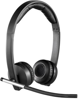 Logitech H820e Stereofonisch Hoofdband Zwart hoofdtelefoon