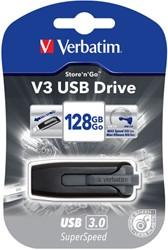 Verbatim 49189 128GB USB 3.0 (3.1 Gen 1) Type-A Zwart USB flash drive