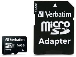 Verbatim Premium 16GB MicroSDHC Klasse 10 flashgeheugen