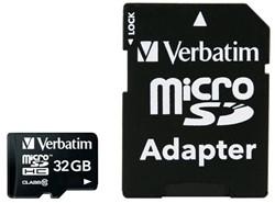 Verbatim Premium 32GB MicroSDHC Klasse 10 flashgeheugen