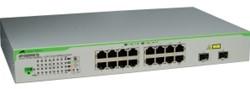 Allied Telesis AT-GS950/16PS-50 Gigabit Ethernet (10/100/1000) Power over Ethernet (PoE) Grijs