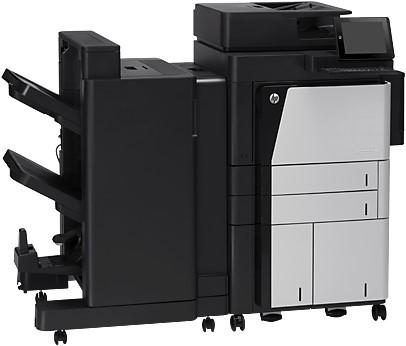 HP LaserJet Enterprise flow M830z Laser A3 Zwart, Grijs