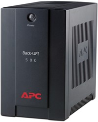APC Back-UPS 500VA noodstroomvoeding 3x C13