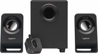 Logitech Z213 2.1kanalen 7W Zwart luidspreker set
