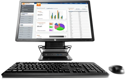 HP Integrated Work Center for Desktop Mini and Thin Client-3