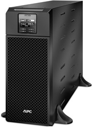 APC Smart-UPS On-Line 6000VA noodstroomvoeding 6x C13, 4x C19, hardwire 1 fase uitgang, Embedded NMC