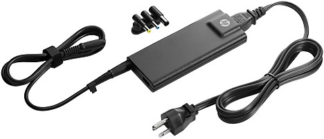 HP 90W Slim w/ USB AC Adapter