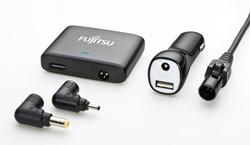 Fujitsu Car/Air DC Mini Auto Zwart oplader voor mobiele apparatuur