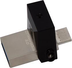 Kingston Technology DataTraveler 64GB microDuo 3.0 64GB USB 3.0/Micro-USB Zwart USB flash drive