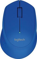 Logitech M280 RF Draadloos Optisch 1000DPI Ambidextrous Blauw muis