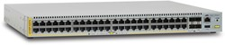 Allied Telesis AT-x510DP-52GTX Managed L3 Gigabit Ethernet (10/100/1000) 1U Zwart