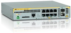 Allied Telesis AT-x230-10GP-50 Managed L2+ Gigabit Ethernet (10/100/1000) Power over Ethernet (PoE) Grijs