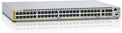 Allied Telesis AT-x310-50FP-50 Gigabit Ethernet (10/100/1000) Power over Ethernet (PoE) 1U Grijs