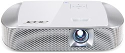 Acer K137i 700ANSI lumens DLP WXGA (1280x800) Draagbare projector Zilver