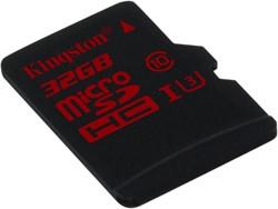 Kingston Technology microSDHC/SDXC UHS-I U3 32GB 32GB MicroSDXC UHS Class 3 flashgeheugen