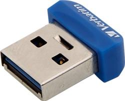 Verbatim Store 'n' Stay Nano 64GB USB 3.0 (3.1 Gen 1) USB-Type-A-aansluiting Blauw USB flash drive