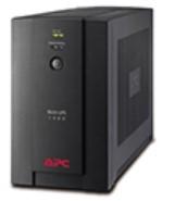 APC Back-UPS 1400VA noodstroomvoeding 4x schuko uitgang, USB