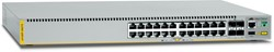 Allied Telesis AT-x510DP-28GTX Managed L3 Gigabit Ethernet (10/100/1000) Grijs