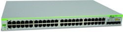 Allied Telesis AT-GS950/48-50 Managed L2 Gigabit Ethernet (10/100/1000) 1U Grijs
