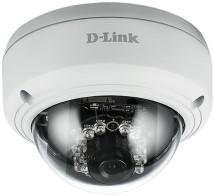 D-Link DCS-4603 IP Binnen Dome Wit bewakingscamera