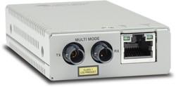 Allied Telesis AT-MMC200/ST-60 100Mbit/s 1310nm Multimode Zilver netwerk media converter