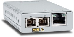 Allied Telesis AT-MMC2000/SC-60 1000Mbit/s 850nm Multimode Zilver netwerk media converter