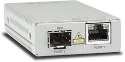 Allied Telesis AT-MMC2000/SP-60 1000Mbit/s 850nm Multimode Zilver netwerk media converter