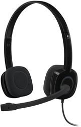 Logitech H151 Stereofonisch Hoofdband Zwart hoofdtelefoon