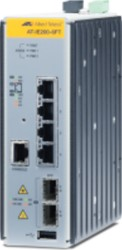 Allied Telesis AT-IE200-6FT-80 Managed L2 Fast Ethernet (10/100) Grijs