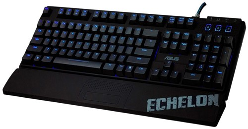 ASUS Echelon USB + PS/2 QWERTY Amerikaans Engels Zwart-1