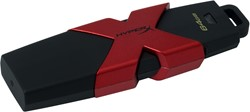 HyperX 64GB 64GB USB 3.0 (3.1 Gen 1) Type-A Zwart, Rood USB flash drive