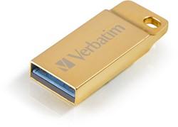Verbatim Metal Executive 16GB USB 3.0 (3.1 Gen 1) USB-Type-A-aansluiting Goud USB flash drive