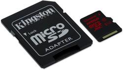 Kingston Technology microSDXC UHS-I U3 90R/80W 128GB 128GB MicroSDXC UHS-I Class 10 flashgeheugen