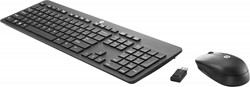 HP Wireless Business Slim Keyboard RF Draadloos QWERTY Zwart